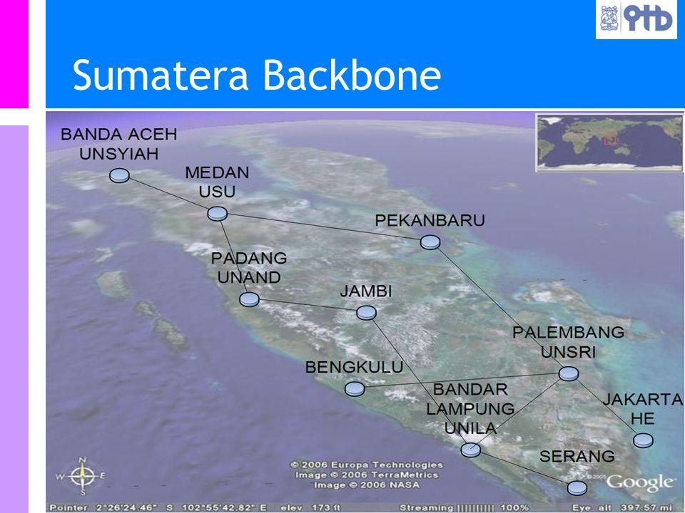 Information Resources Unit Teknologi Bandung IRU Sumatera Backbone