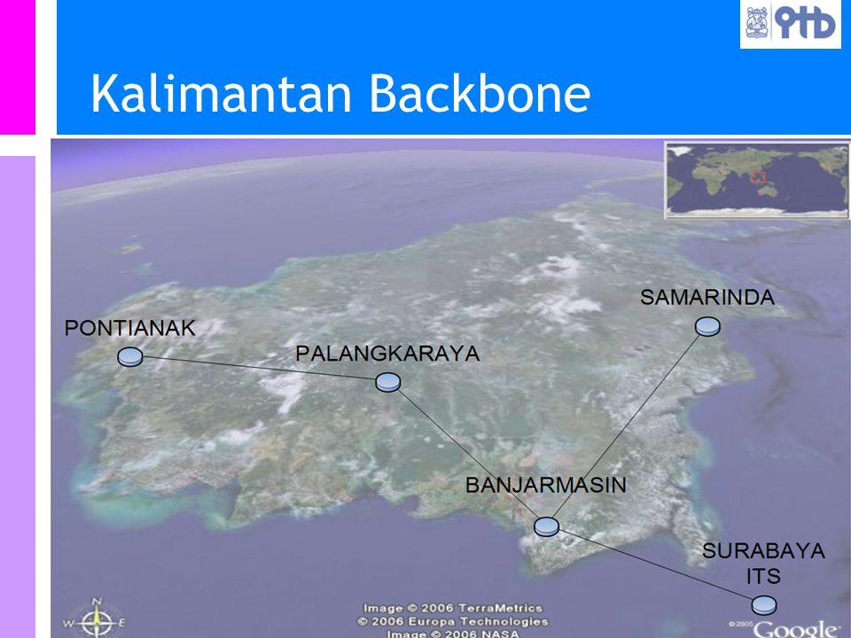 Information Resources Unit Teknologi Bandung IRU Kalimantan Backbone
