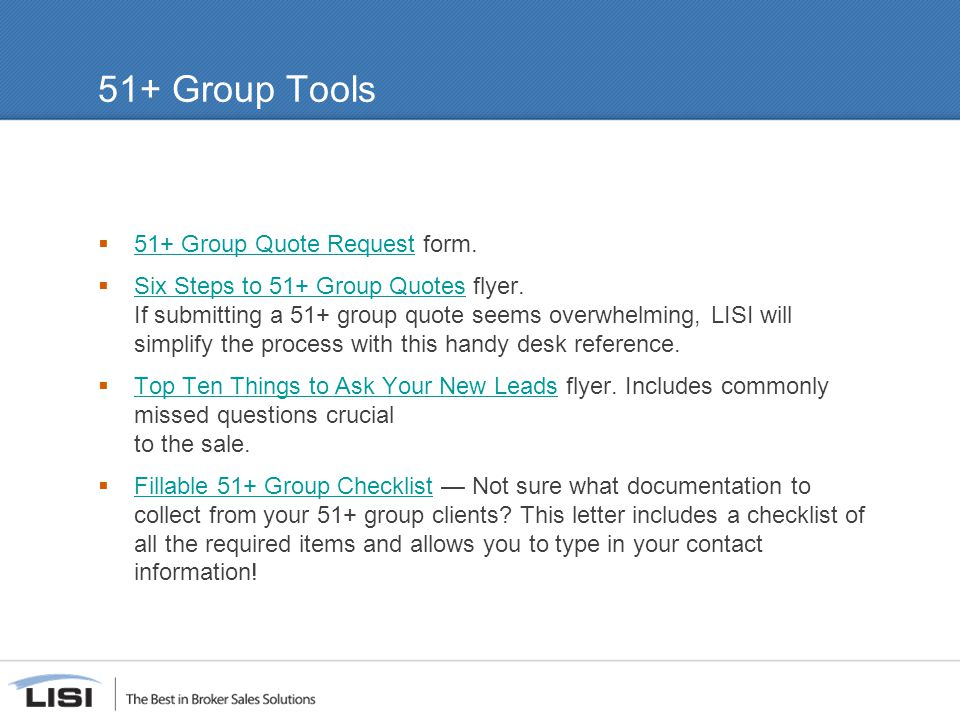 51+ Group Tools  51+ Group Quote Request form.