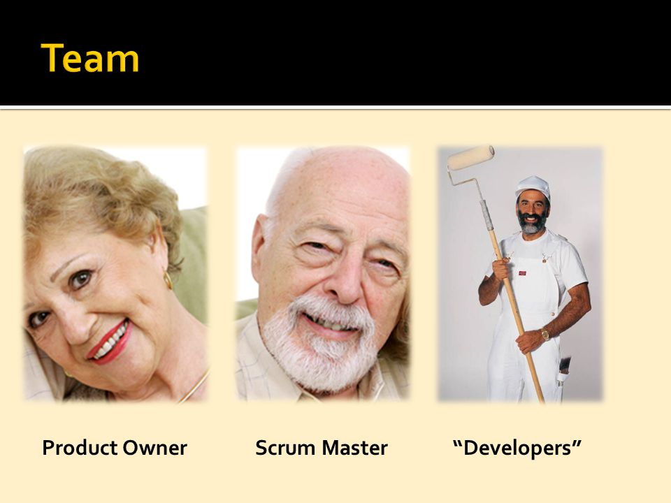 "Product OwnerScrum Master""Developers"""