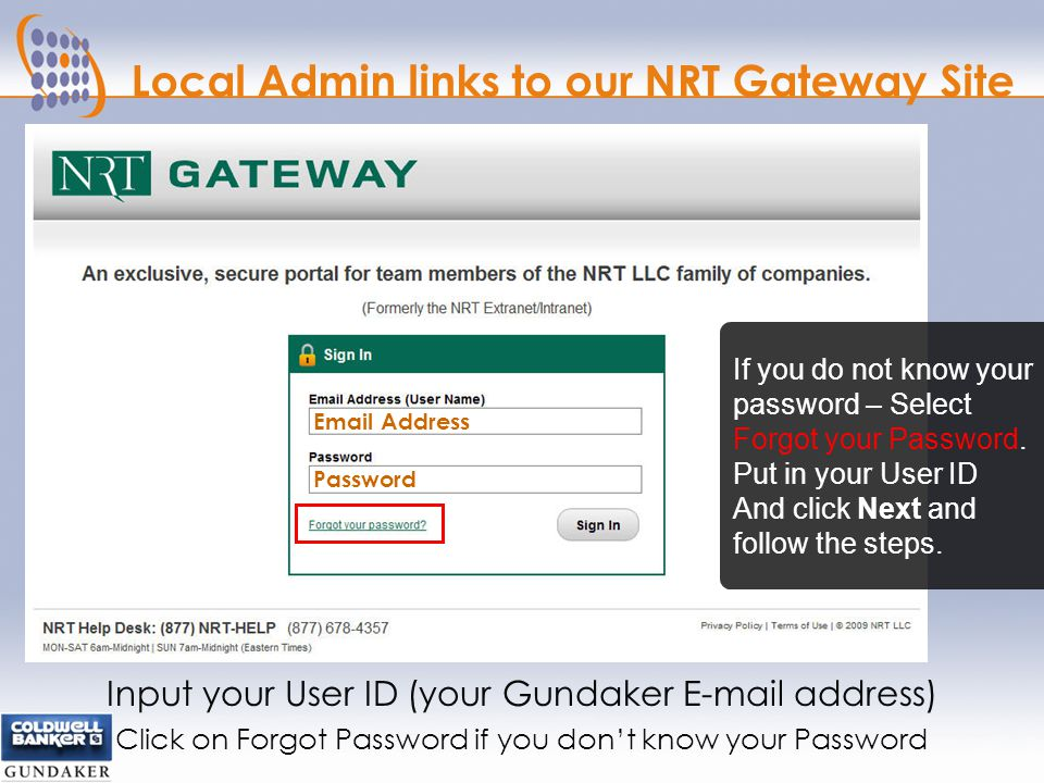 LOGIN TO LEADROUTER Visit www.NRTGATEWAY.com