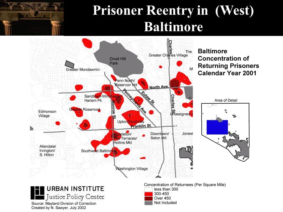 Prisoner Reentry in (West) Baltimore