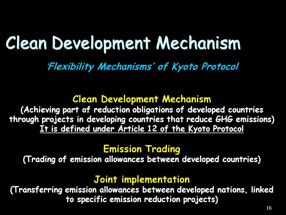 Mitigation of Global Warming Kyoto Gases & GWP The CDM – what & how? The CDM project Cycle India's Position Types of CDM projects Outline