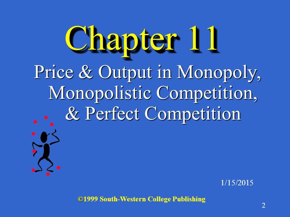 22 Monopoly: Zero Profits Case Q $ MR ATC MC D ATC 22 Q P P