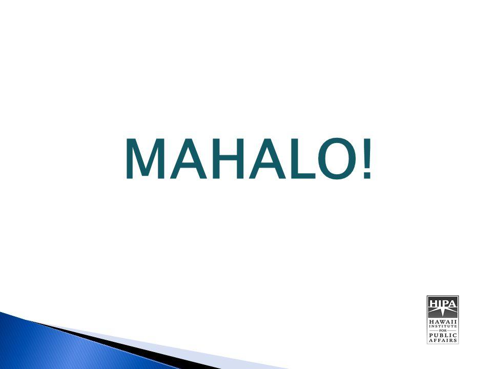 MAHALO!