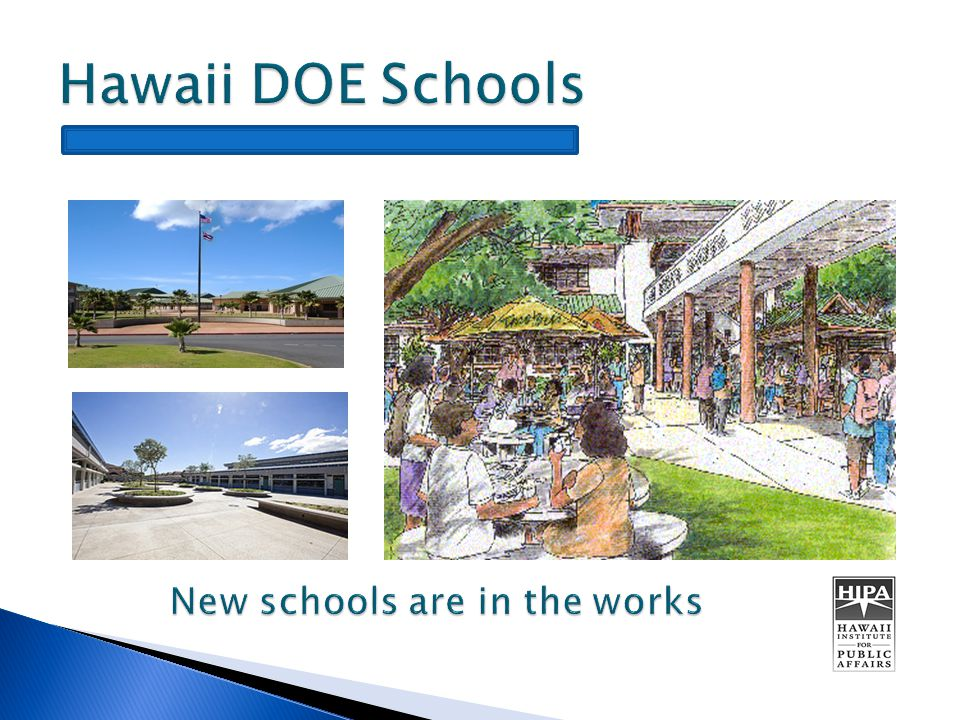  Hawaii Department of Education  Council for Educational Facility Planners International  Urban Land Institute  Chamber of Commerce of Hawaii  Hawaii State Teachers Association  Good Beginnings Alliance  Concordia LLC