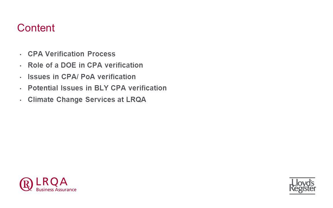 CPA Verification Process 1.