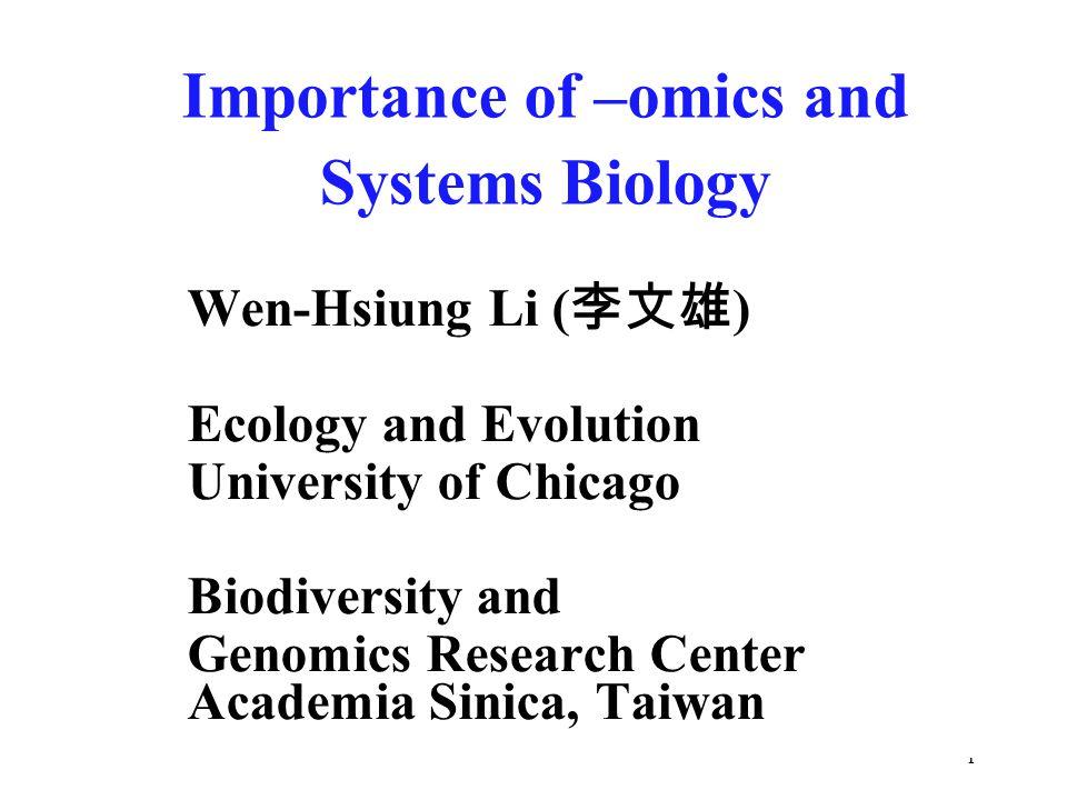 2 What is -omics.It is the suffix of Genomics, Proteomics, Transcriptomics, etc.
