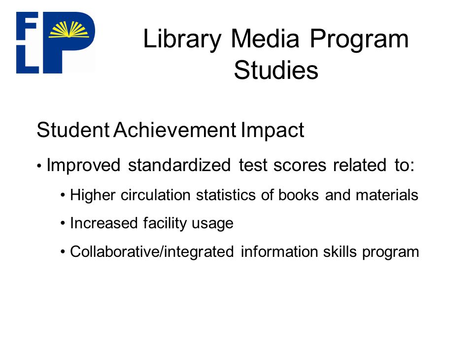 Program Rationale Statewide program Statewide program Recognition for role of school library media programs and staff Recognition for role of school library media programs and staff Banner and pins Banner and pins Highlighted on website Highlighted on website Mentoring school Mentoring school Improved student achievement Improved student achievement