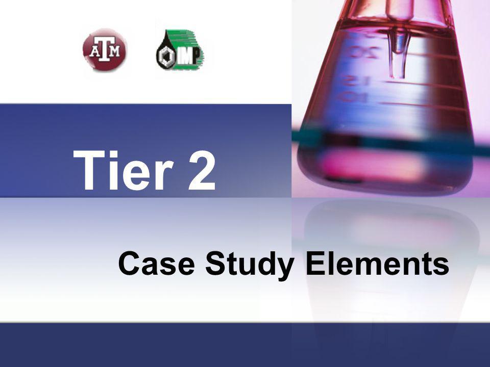 Tier 2 Case Study Elements