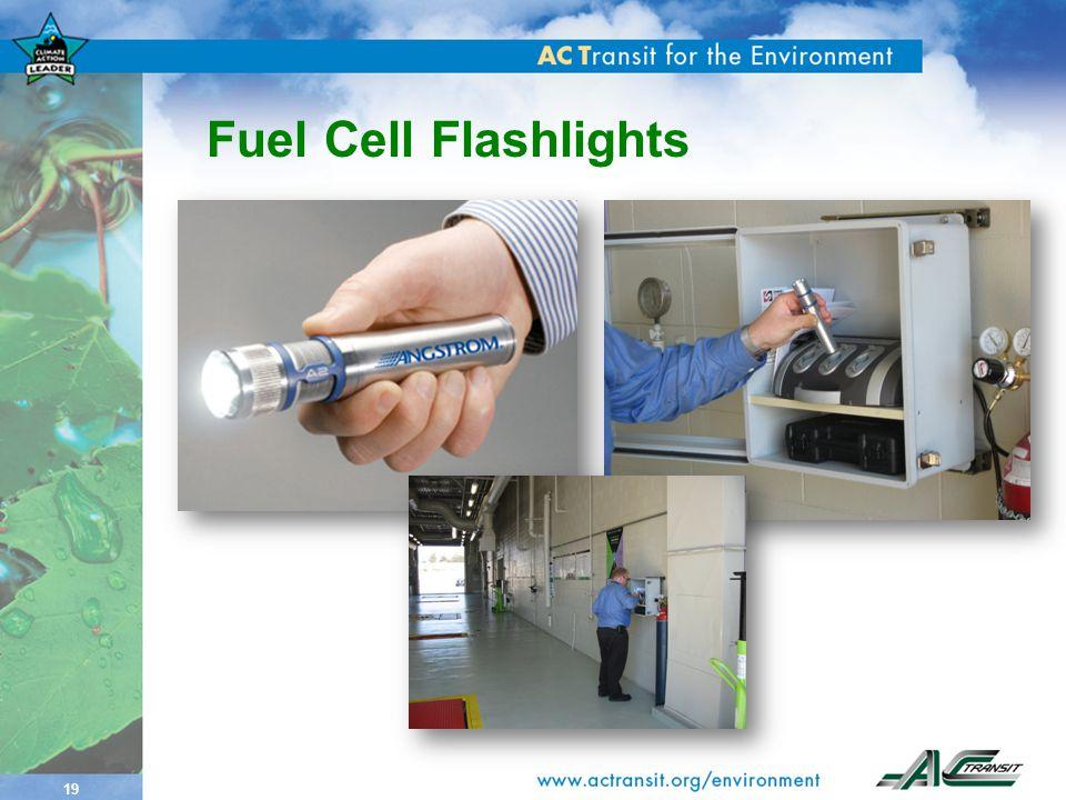19 Fuel Cell Flashlights