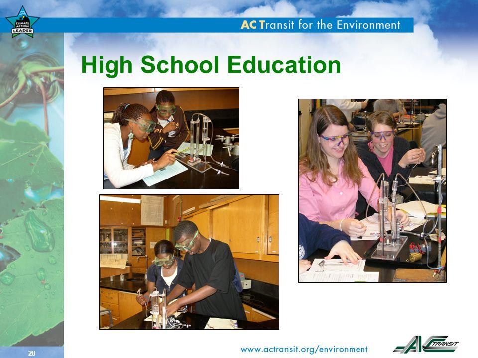 28 High School Education