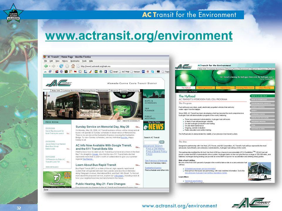 32 www.actransit.org/environment
