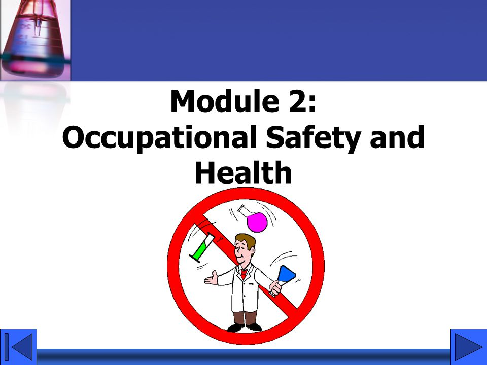 Occupational Safety and Health Act OSHA established a national policy for safety and health.
