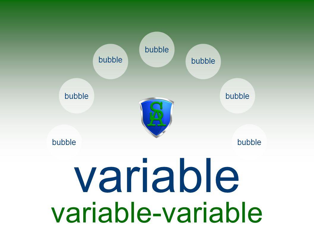 callout bubble variable variable-variable