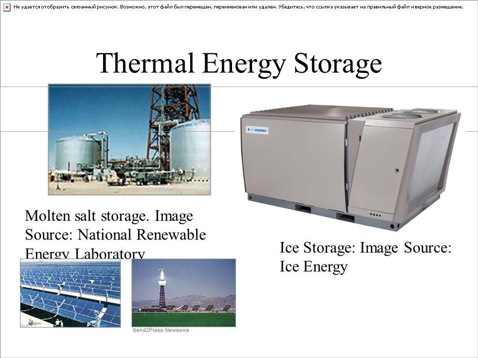 Thermal Energy Storage Molten salt storage.