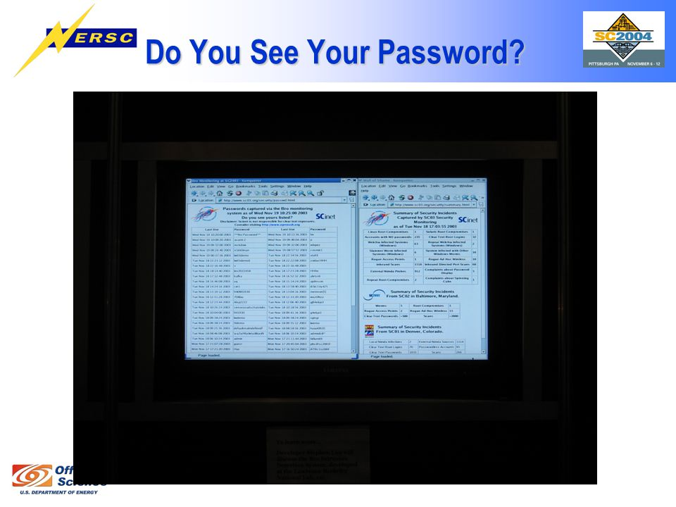 Do You See Your Password