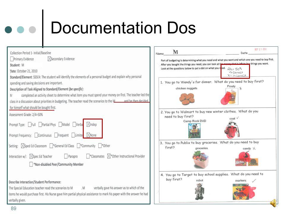 Documentation Dos 89