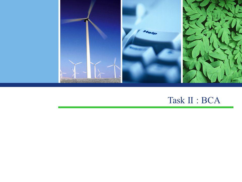 Task II : BCA
