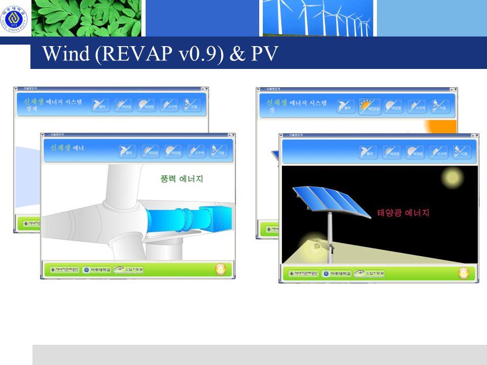 Wind (REVAP v0.9) & PV