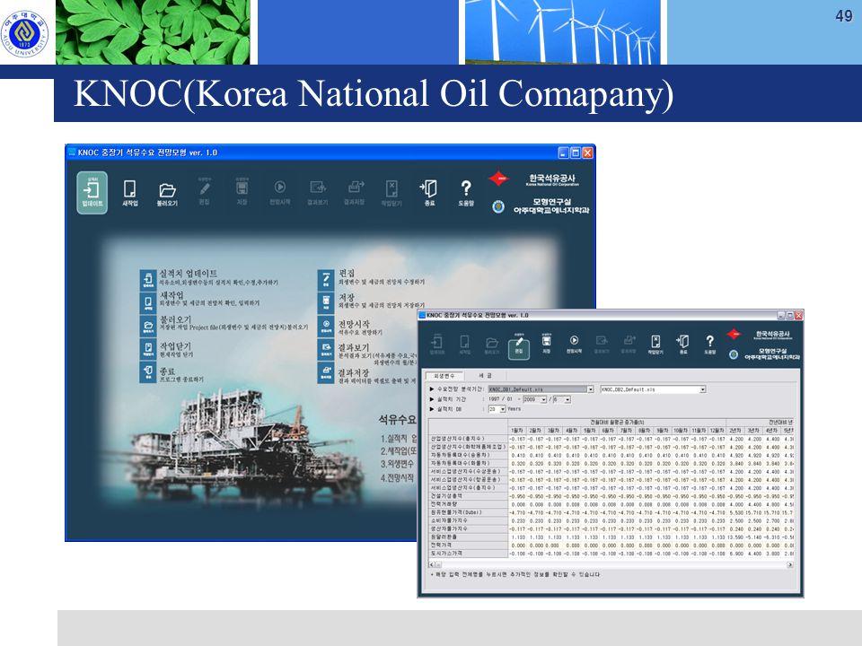 49 KNOC(Korea National Oil Comapany)