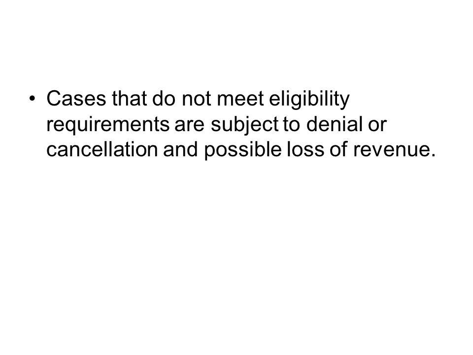 In all cases, agencies must obtain the required information and documentation in order to determine eligibility. Agencies must request the required do
