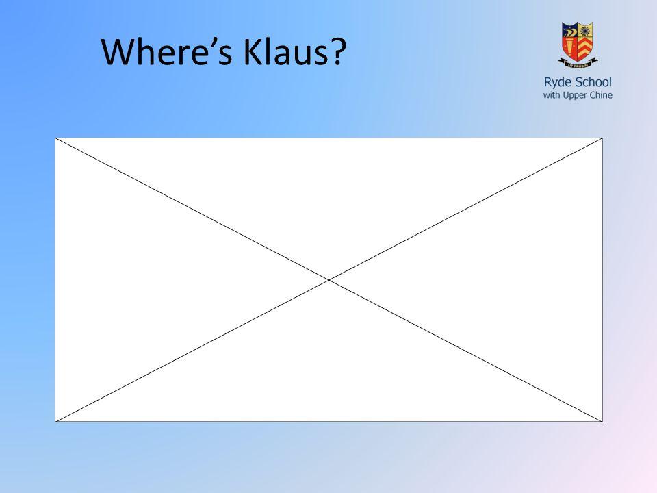 Where's Klaus