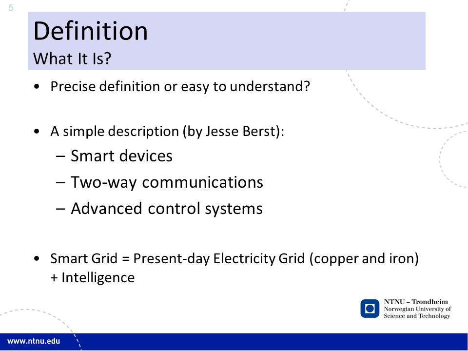 6 Definition What It Is Not.
