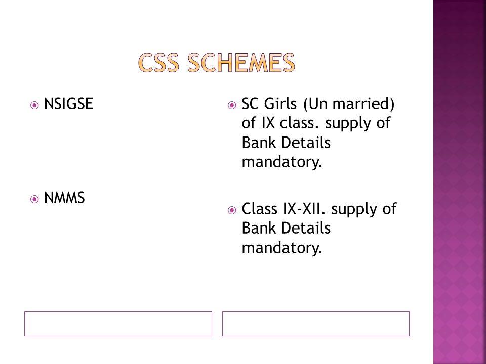  NSIGSE  NMMS  SC Girls (Un married) of IX class.