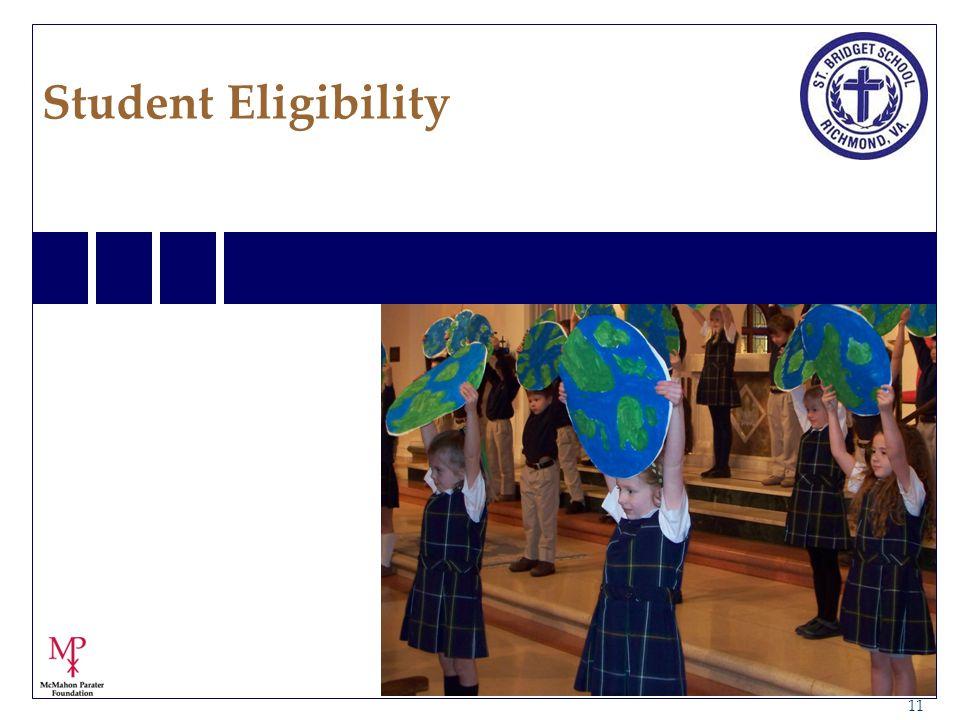 11 Student Eligibility