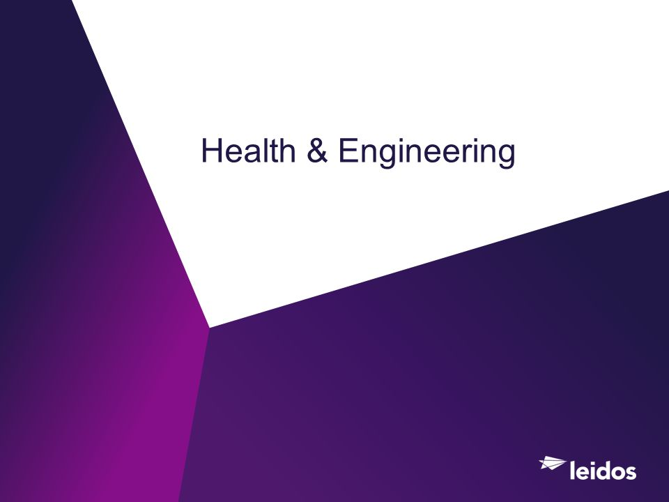 Health & Engineering