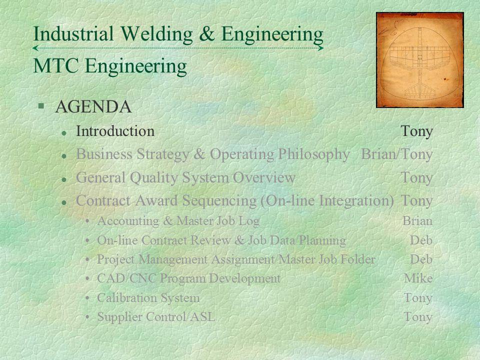 MTC Engineering Industrial Welding & Engineering