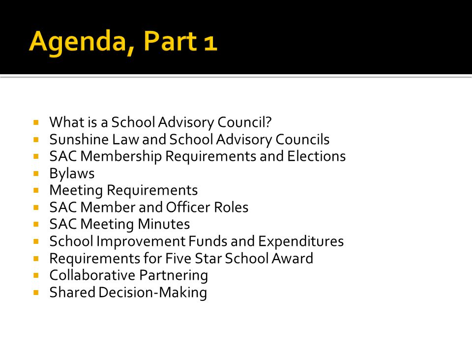  How to write meaningful School Improvement Plans (SIP's)  Linking the plan to State Goals and Priorities and the School Board Priorities  Goals  Needs Assessments  Objectives  Strategies  Performance Measures  Budget Based  Additional Requirements  SIP Due Dates  Mid Year Reports and Due Dates  Contacts for assistance