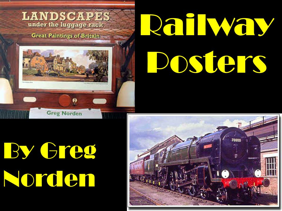 Railway Posters By Greg Norden