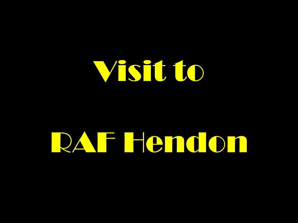 Visit to RAF Hendon
