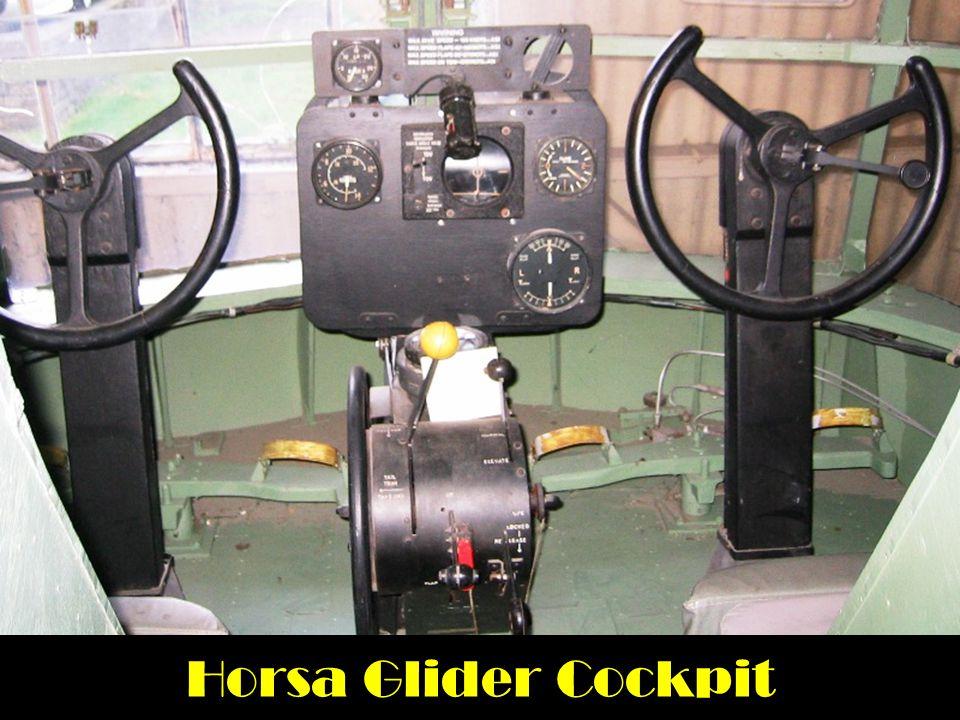 Horsa Glider Cockpit