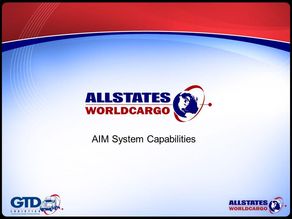 AIM System Capabilities