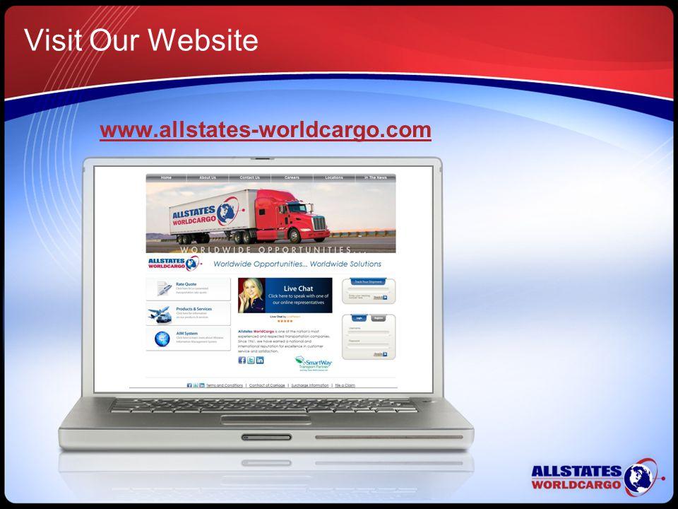 Visit Our Website www.allstates-worldcargo.com