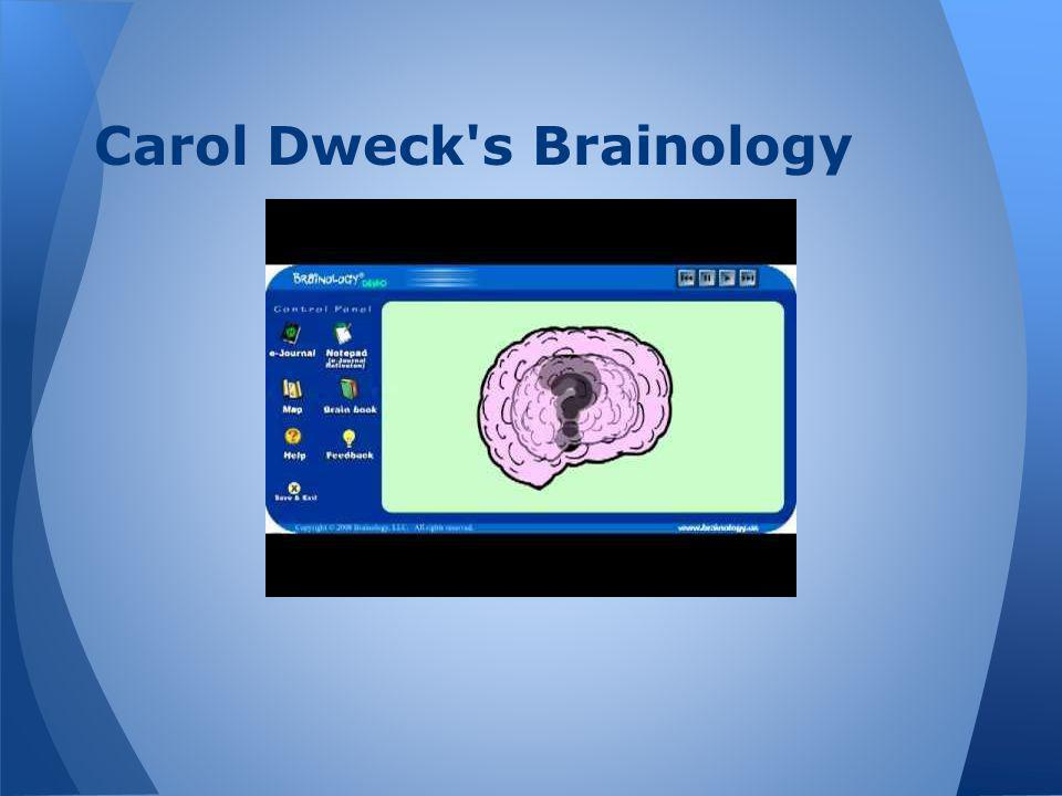 Carol Dweck s Brainology