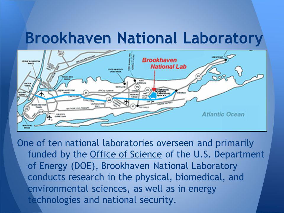 One of ten national laboratories overseen and primarily funded by the Office of Science of the U.S.