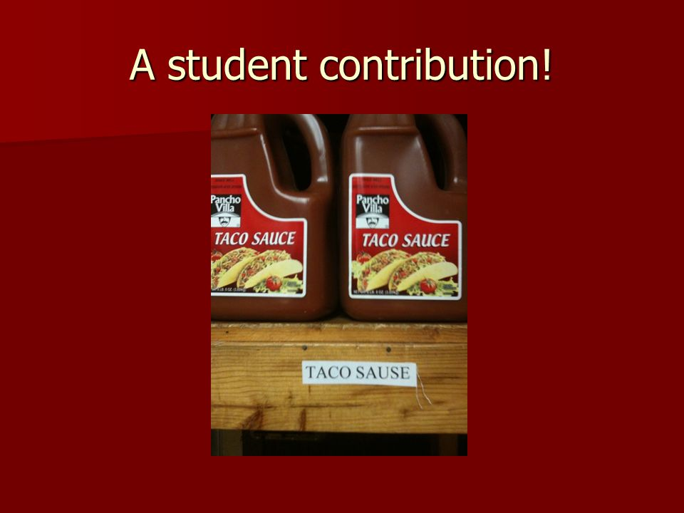 A student contribution!