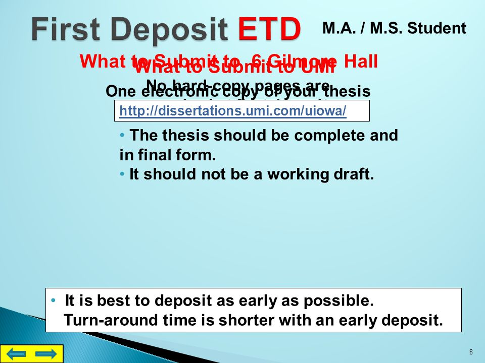Format Examples pp. 20 - 39 Online Thesis Manual 38