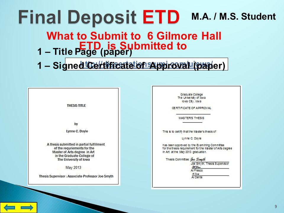 1 – Title Page (paper) http://dissertations.umi.com/uiowa/.
