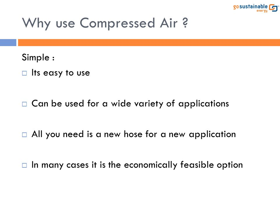 Compressor Optimization: Case Study 2 In the new case only one compressor is part- loaded instead of two.
