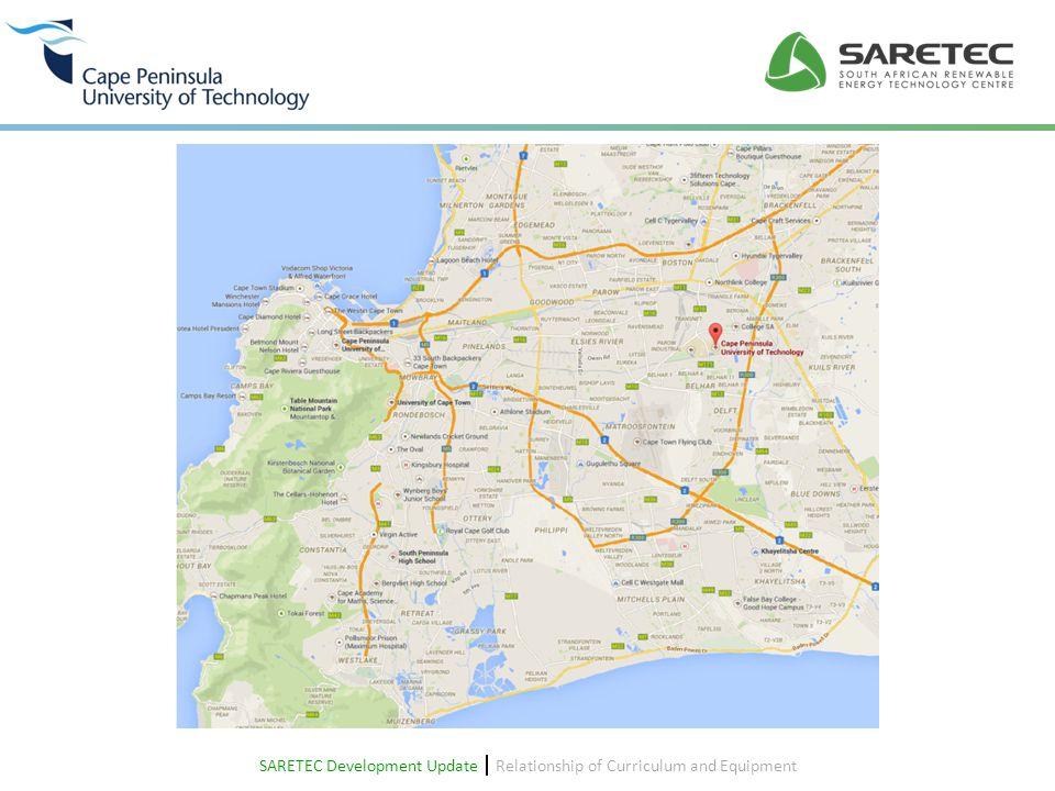 SARETEC construction: September 2014 SARETEC Development Update  Relationship of Curriculum and Equipment