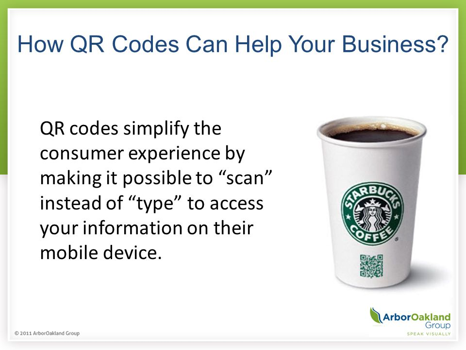 How QR Codes Can Help Your Business.