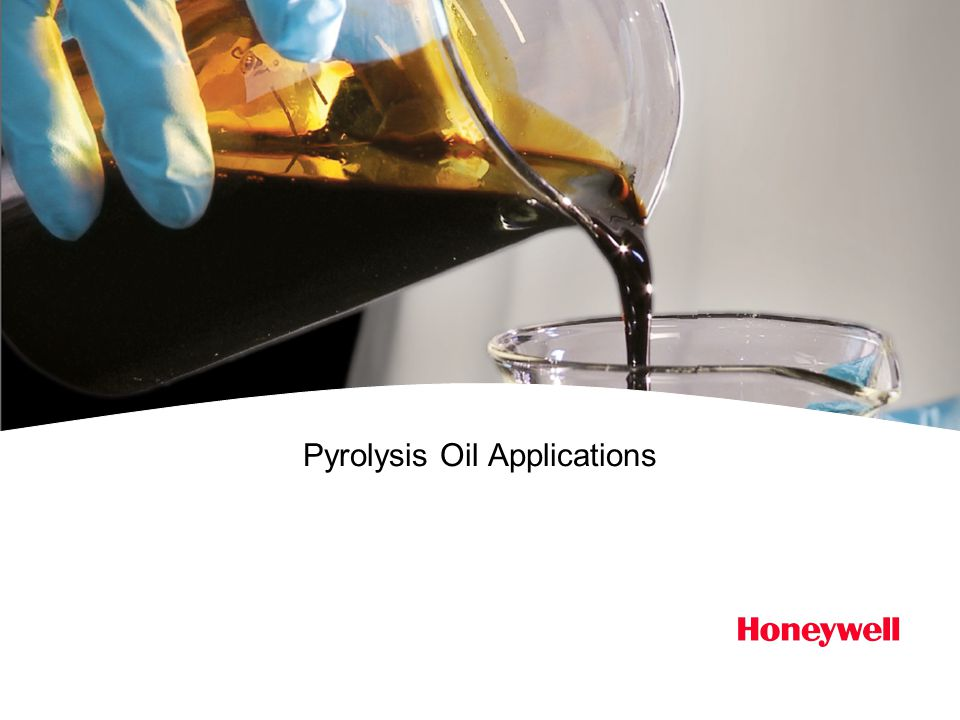Pyrolysis Oil Applications