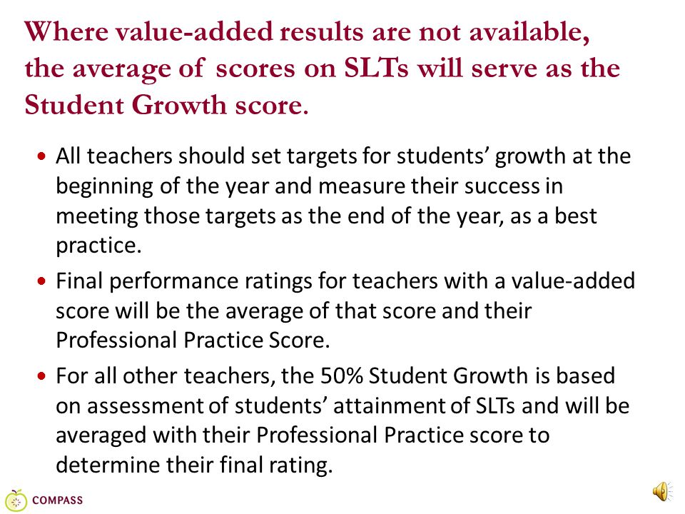 18 Scoring Plan for English II Example: English II Target: 63 out of 90 students will score Good or Excellent on the English II EOC.