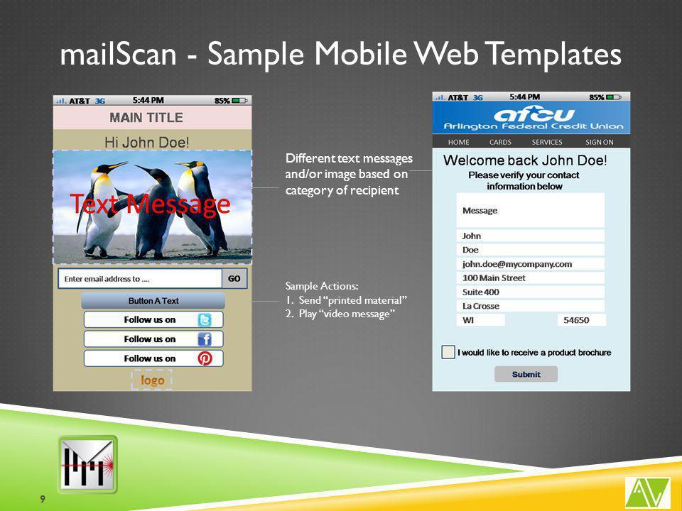 mailScan - Sample Analytics 10