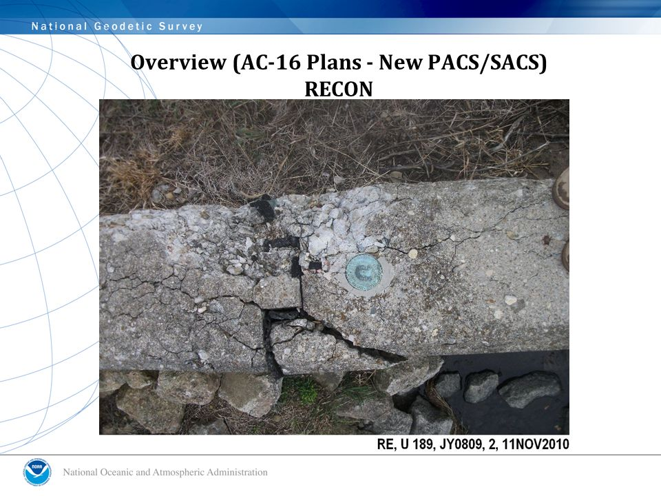 Overview (AC-16 Plans - New PACS/SACS) RECON